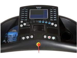 Reebok ZR10 main feature console